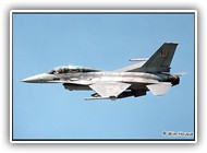 F-16B BAF FB10 on 23 May 2001