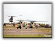 Mi-8 Hungary AF 10440 & 10443 + Agusta BAF H-14 & H36 on 30 May 2002