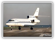 Falcon 900 BAF CD01 on 18 December 2002