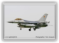 F-16AM BAF FA116 on 26 May 2005