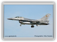 F-16AM BAF FA82 on 07 September 2005