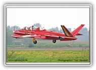 Fouga Magister BAF MT48 on 01 September 2005