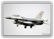 F-16AM BAF FA119 on 24 April 2006