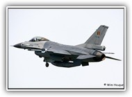 F-16AM BAF FA68 on 28 April 2006