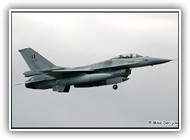 F-16AM BAF FA86 on 26 April 2006