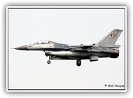F-16AM BAF FA99 on 24 April 2006