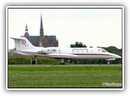 Learjet Swiss AF T-781 on 20 June 2006_2