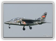 Alpha jet FAF E-166 314-LT on 16 April 2007