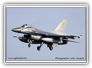 F-16AM BAF FA116 on 07 January 2013