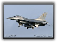 F-16AM BAF FA132 on 07 January 2013