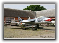 Hawker Hunter BAF  IF-65 7J-B